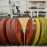 Competition rated Ivanko plates to go with Chiseled's competition Eleiko and Texas bars